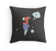 Sharkbait: A Journey Through Time and Space Throw Pillow