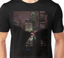 The Windy, Rainy, Wet City Unisex T-Shirt