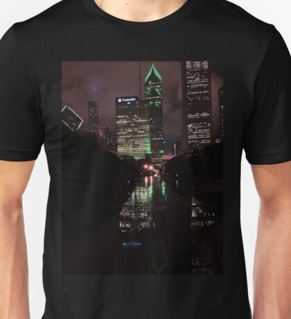The Windy, Rainy, Wet City Unisex T-Shirt