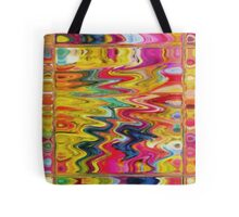 Abstract Lightening Tote Bag
