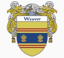 Weaver Coat of Arms / Weaver Family Crest Baby Tee