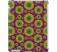 Sunroses mixed with stars in a moonlight serenade iPad Case/Skin