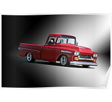 1958 Chevrolet Apache Pick-Up Poster