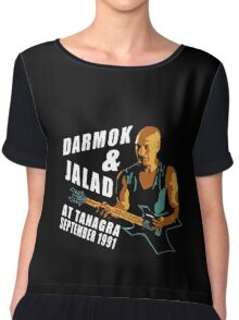 Darmok & Jalad at Tanagra ST TnG (Dark ONLY) Chiffon Top