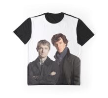 BBC Sherlock- John And Sherlock Graphic T-Shirt