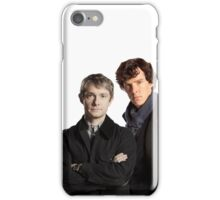 BBC Sherlock- John And Sherlock iPhone Case/Skin