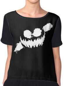 Knife Party; Haunted House Chiffon Top