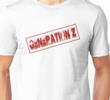Generation Z Stamp Unisex T-Shirt