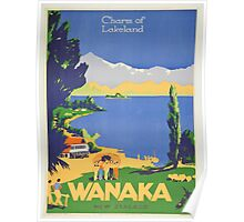 Vintage poster - Wanaka Poster