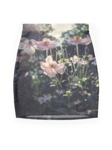 In a Country Garden Mini Skirt