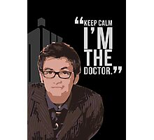 Keep Calm The 10th Doctor is Here Photographic Print