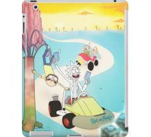Rick And Morty - Double Dash iPad Case/Skin