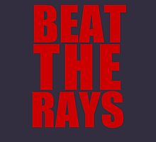 Boston Red Sox - BEAT THE RAYS - Red Text Unisex T-Shirt