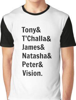 Team Tony... Graphic T-Shirt