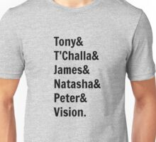 Team Tony... Unisex T-Shirt