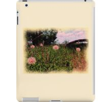 Floral Fluff iPad Case/Skin