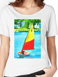 Small Boat Fun Women's Relaxed Fit T-Shirt