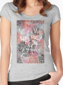 agos Women's Fitted Scoop T-Shirt