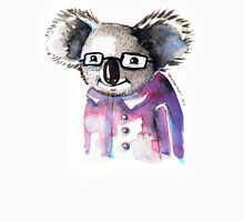 Watercolour Koala with Glasses Unisex T-Shirt