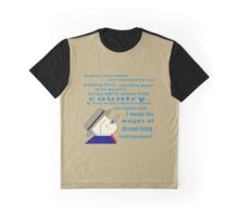 FDR on Wages Graphic T-Shirt