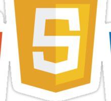 HTML5, CSS3, JS Sticker