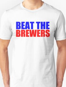 Chicago Cubs - BEAT THE BREWERS T-Shirt