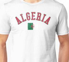 Algeria Flag Vintage Unisex T-Shirt