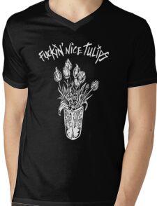 NICE TULIPS Mens V-Neck T-Shirt