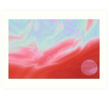 Cotton Candy Sky Art Print