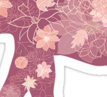 Pink Elephant Sticker