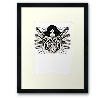 Dark Girl Framed Print