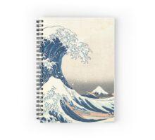 The Great Wave off Kanagawa Spiral Notebook