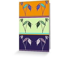 LEAVES OF THREE Greeting Card