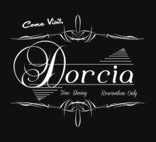 Come Visit Dorcia - Dark Kids Tee
