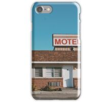 Motel (Ely, Nevada) iPhone Case/Skin