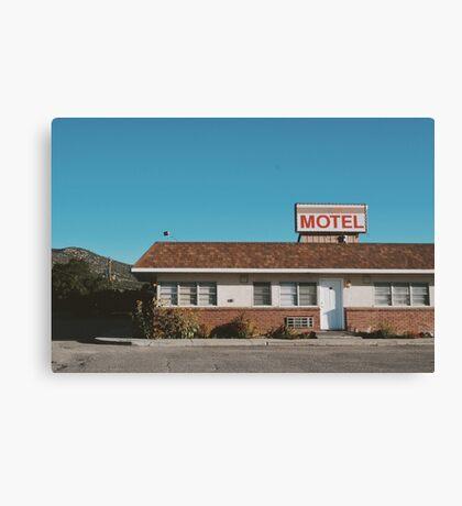 Motel (Ely, Nevada) Canvas Print