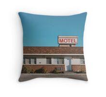 Motel (Ely, Nevada) Throw Pillow