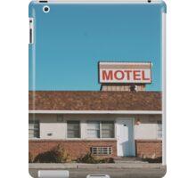 Motel (Ely, Nevada) iPad Case/Skin