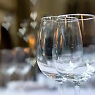 Wedding Breakfast Glasses by Kasia-D