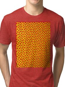 """STRAWBERRY'S"" Art Deco Print Tri-blend T-Shirt"