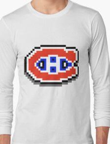 Go Habs Go ! Pixels Long Sleeve T-Shirt