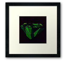 The emerald at heart Framed Print