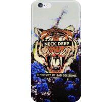 Tiger Neck Deep Logo  iPhone Case/Skin