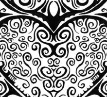 Tribal Hearts Sticker