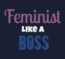 Feminist Like A Boss Kids Clothes
