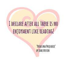 Reading pleasures by mrsthornton