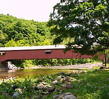 Forksville PA Covered Bridge by Penny Rinker