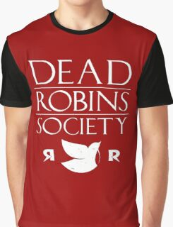 DEAD ROBINS SOCIETY (Damian ver.) Graphic T-Shirt