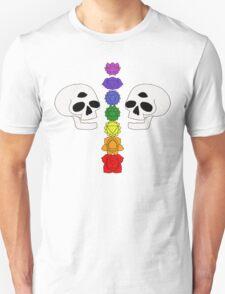 skull chakras Unisex T-Shirt