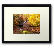 Somewhere in the Smokies  Framed Print